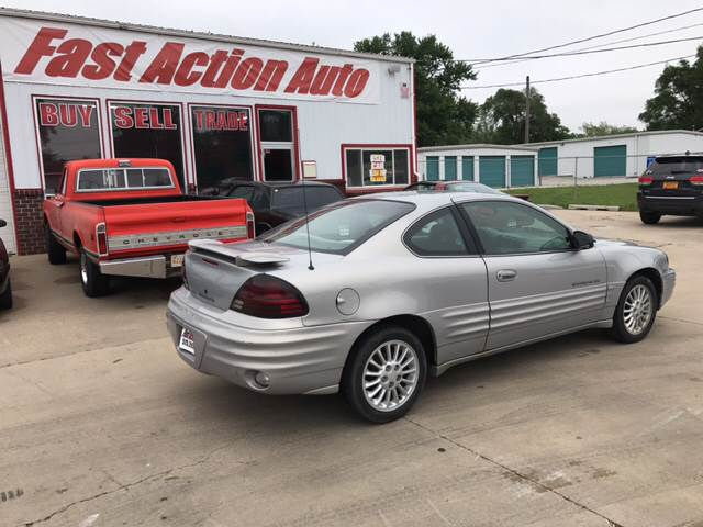1999 Pontiac Grand Am for sale at Fast Action Auto in Des Moines IA
