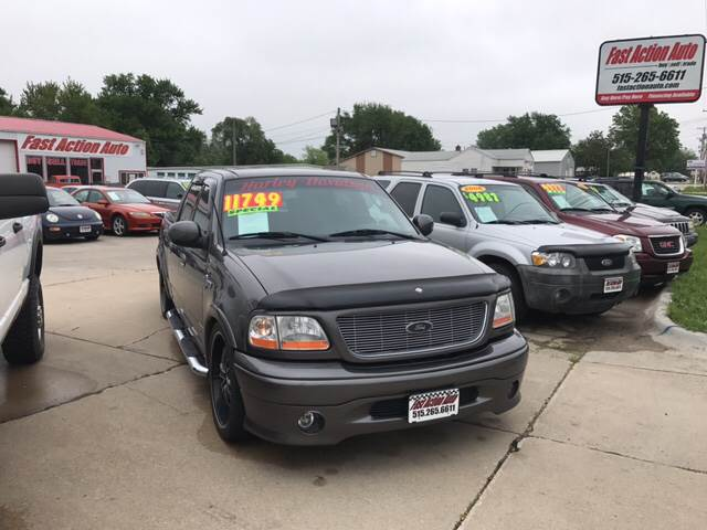 2002 Ford F-150 for sale at Fast Action Auto in Des Moines IA
