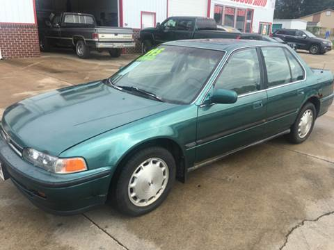 1993 Honda Accord for sale at Fast Action Auto in Des Moines IA