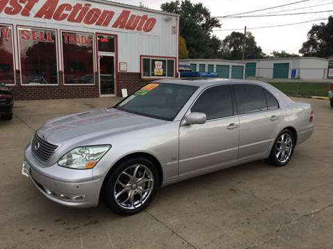 2004 Lexus LS 430 for sale at Fast Action Auto in Des Moines IA