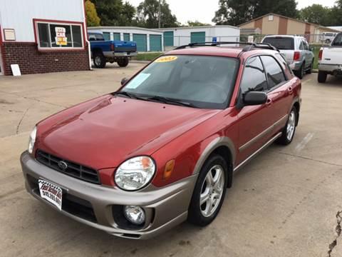 2002 Subaru Impreza for sale at Fast Action Auto in Des Moines IA