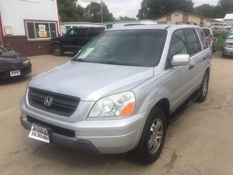 2004 Honda Pilot for sale at Fast Action Auto in Des Moines IA