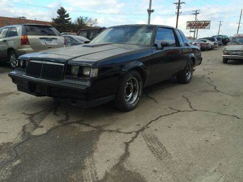 1986 Buick Grand National for sale at Fast Action Auto in Des Moines IA