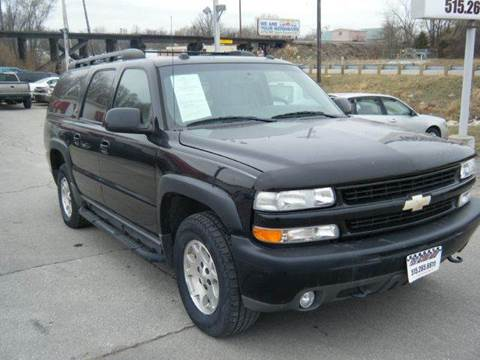 2005 Chevrolet Suburban for sale at Fast Action Auto in Des Moines IA