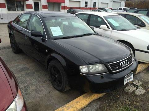 2001 Audi A6 for sale at Fast Action Auto in Des Moines IA