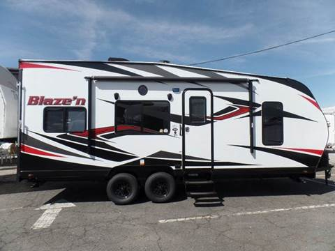 2018 PACIFIC COACHWORKS BLAZEN 22FS for sale at Gold Country RV in Auburn CA