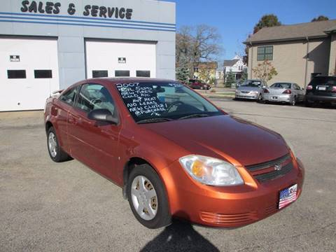 2007 Chevrolet Cobalt for sale at Cars R Us Sales & Service llc in Fond Du Lac WI