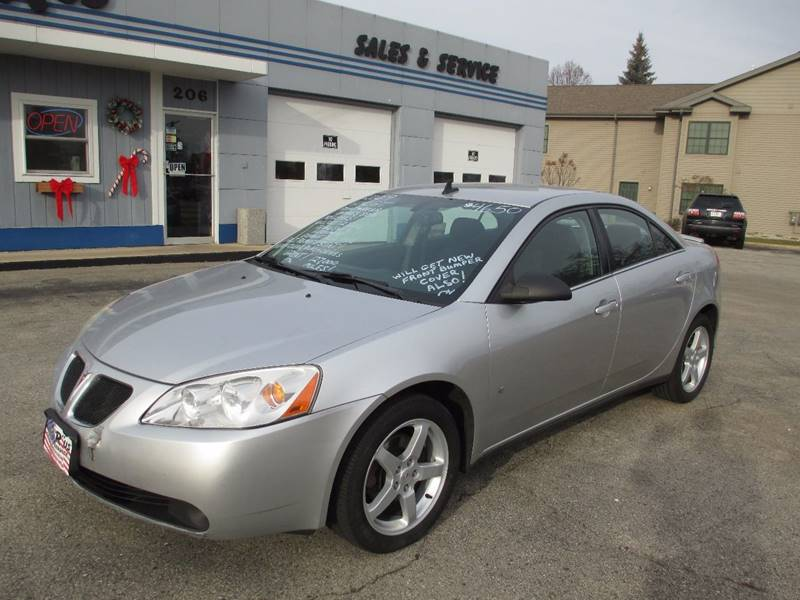 2009 Pontiac G6 GT 4dr Sedan w/1SA In Fond Du Lac WI - Cars R Us ...