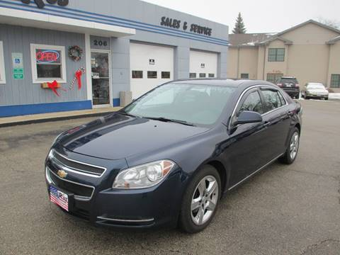 2010 Chevrolet Malibu for sale at Cars R Us Sales & Service llc in Fond Du Lac WI