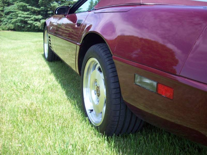 1993 Chevrolet Corvette 40th Anniversary Convertible - Ellendale MN