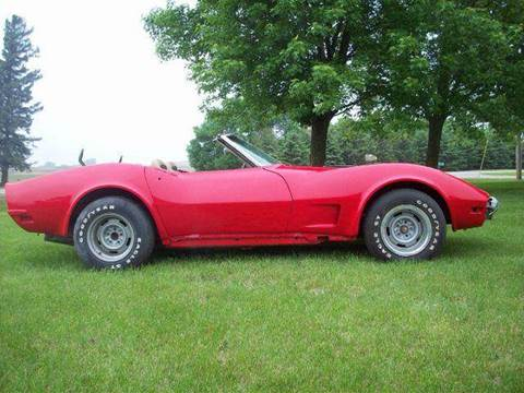 1973 Chevrolet Corvette for sale at S & S CLASSIC MOTORSPORTS INC in Ellendale MN