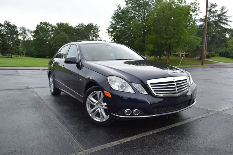2011 Mercedes Benz E Class E 350 BlueTEC Luxury 4dr Sedan   Knoxville TN