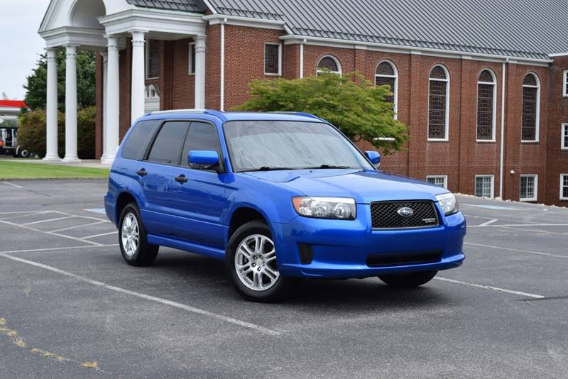 2008 Subaru Forester Awd Sports 2 5 X 4dr Wagon 4a In Knoxville Tn