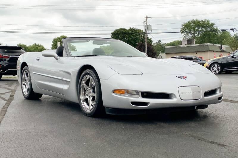 2002 Chevrolet Corvette for sale at Knighton's Auto Services INC in Albany NY