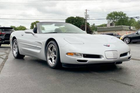 2002 Chevrolet Corvette for sale at Knighton's Auto Services INC in Albany NY