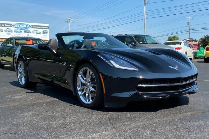 2014 Chevrolet Corvette for sale at Knighton's Auto Services INC in Albany NY