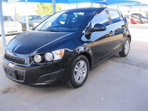 2012 Chevrolet Sonic for sale in Socorro, TX