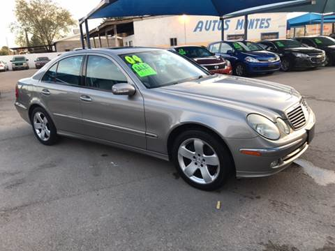 2004 Mercedes-Benz E-Class for sale at Autos Montes in Socorro TX