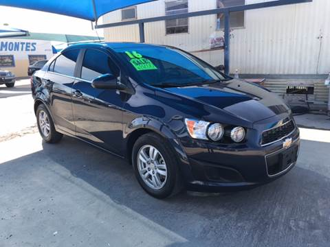 2016 Chevrolet Sonic for sale at Autos Montes in Socorro TX