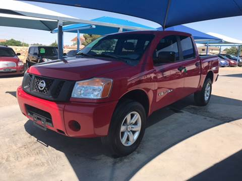 2011 Nissan Titan for sale at Autos Montes in Socorro TX