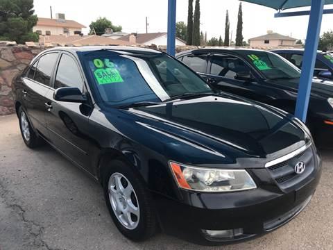2006 Hyundai Sonata for sale at Autos Montes in Socorro TX