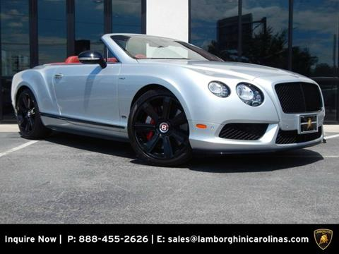2015 Bentley Continental GTC V8 S for sale in Greensboro, NC