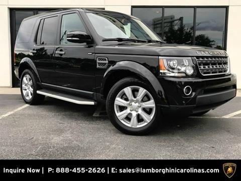 2016 Land Rover LR4 for sale in Greensboro, NC