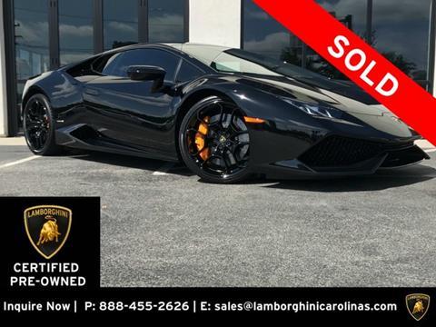 2015 Lamborghini Huracan for sale in Greensboro, NC
