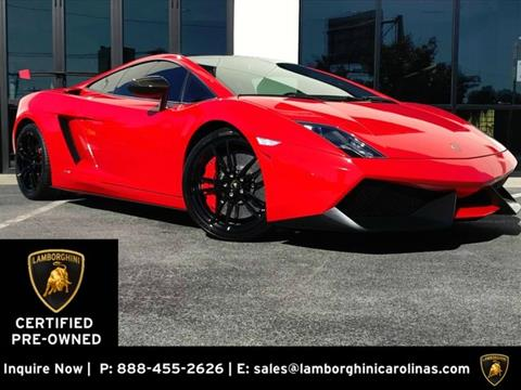 2012 Lamborghini Gallardo for sale in Greensboro, NC