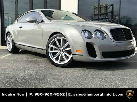 2011 Bentley Continental Gt For Sale In Dayton Nv Carsforsale