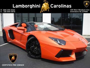 2014 Lamborghini Aventador for sale in Greensboro, NC