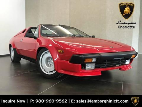 Used Lamborghini Jalpa For Sale In Ontario Ca Carsforsale Com