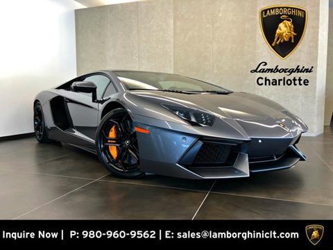 Used Lamborghini For Sale In North Carolina Carsforsale Com