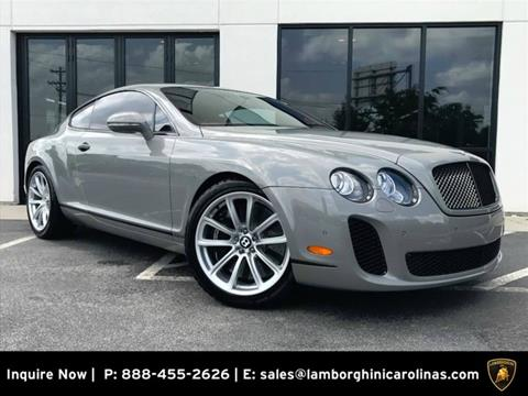 2011 Bentley Continental Supersports for sale in Greensboro, NC