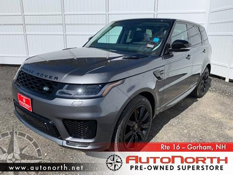 2018 Land Rover Range Rover Sport for sale in Gorham, NH