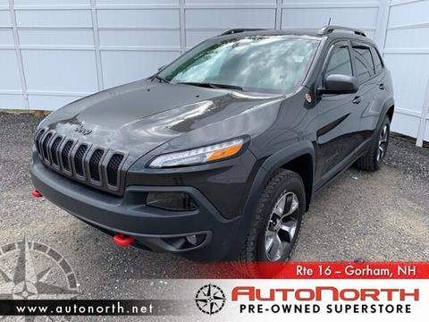 2016 Jeep Cherokee for sale in Gorham, NH