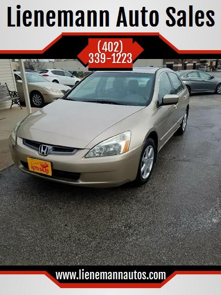 2004 Honda Accord For Sale At Lienemann Auto Sales In Ralston NE