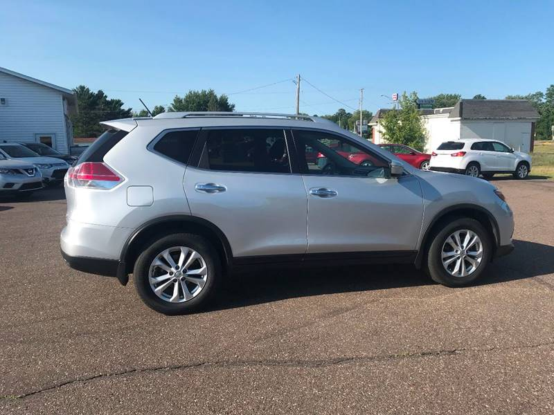 2015 Nissan Rogue for sale at Mays Auto Sales and Service in Stanley WI