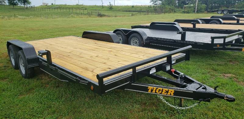 2019 Tiger 18' 7000Lb Car Hauler In Holden MO - SS Trailers