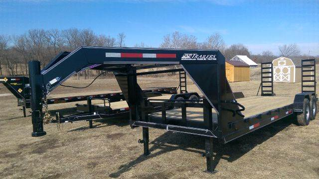 2018 Hc 24ft Lowboy Gooseneck In Holden Mo