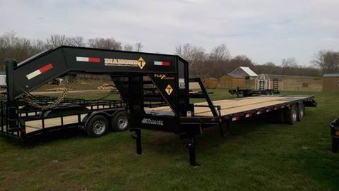 2021 Diamond-T 30FT 24K GOOSENECK MAXX Ramps
