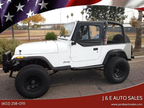 1993 Jeep Wrangler for sale in Phoenix, AZ