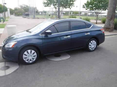 2013 Nissan Sentra for sale at J & E Auto Sales in Phoenix AZ