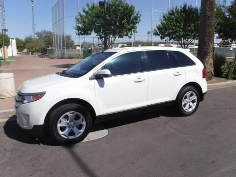 2012 Ford Edge for sale at J & E Auto Sales in Phoenix AZ