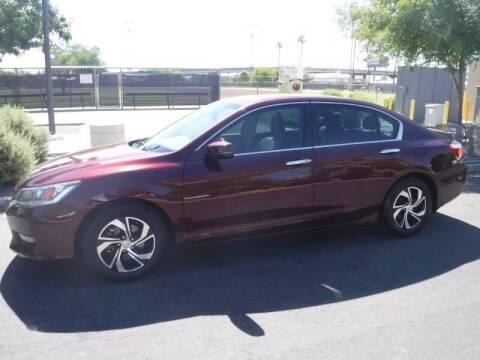 2015 Honda Accord for sale at J & E Auto Sales in Phoenix AZ