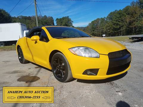 2009 Mitsubishi Eclipse Spyder for sale in Irondale, AL