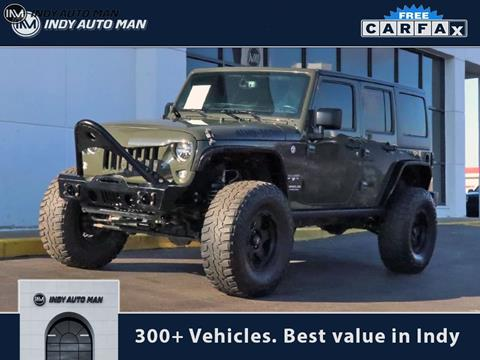2016 Jeep Wrangler Unlimited for sale in Indianapolis, IN