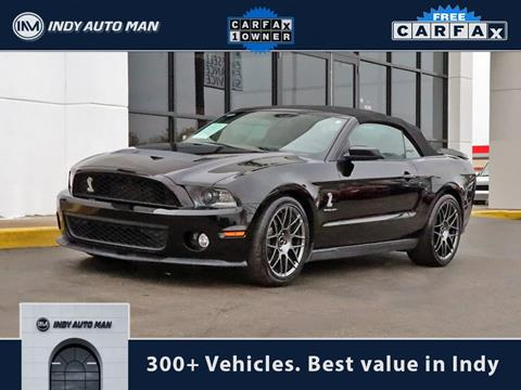 2012 Ford Shelby GT500 for sale in Indianapolis, IN