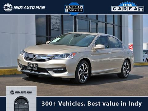 2016 Honda Accord for sale in Indianapolis, IN