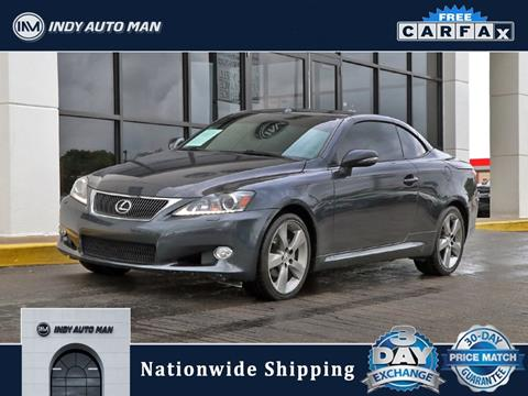 2011 Lexus IS 250C for sale in Indianapolis, IN
